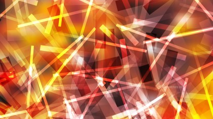 Abstract Orange and Yellow Random Overlapping Lines Background