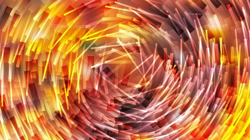 Abstract Orange and Yellow Irregular Circular Lines Background