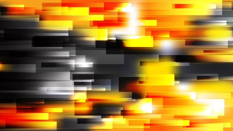 Abstract Orange Black and White Horizontal Lines Background Graphic