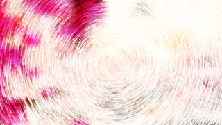 Pink and White Circular Lines Background