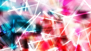 Pink Blue and White Chaotic Intersecting Lines Background