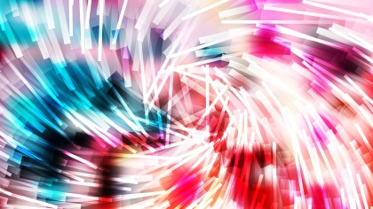 Abstract Pink Blue and White Dynamic Twirl Striped Lines Background Design
