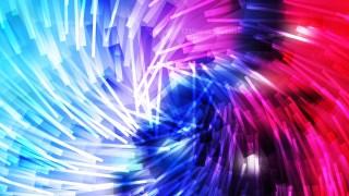 Pink Blue and White Asymmetric Random Twirl Striped Lines Background Illustration