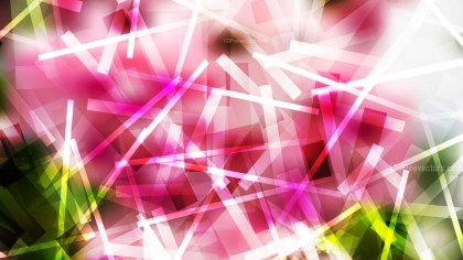 Abstract Pink Green and White Dynamic Intersecting Lines background