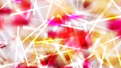Pink Yellow and White Asymmetric Random Lines Background Image