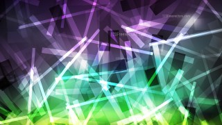 Abstract Purple and Green Dynamic Random Lines Background