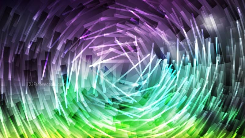 Purple and Green Irregular Circular Lines Background Design