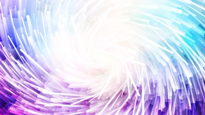 Abstract Purple and White Random Twirl Striped Lines Background Vector Graphic