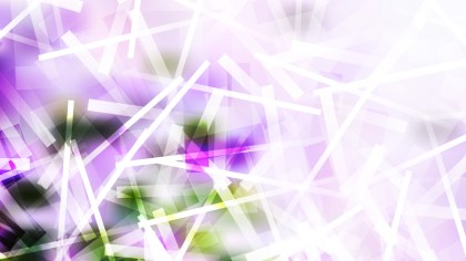 Abstract Purple Green and White Intersecting Lines background Illustration