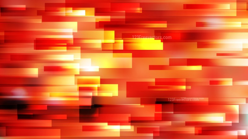 Red and Yellow Horizontal Lines and Stripes Background Vector Art