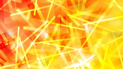 Red and Yellow Random Abstract Overlapping Lines Background