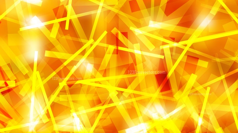 Red and Yellow Random Abstract Intersecting Lines background