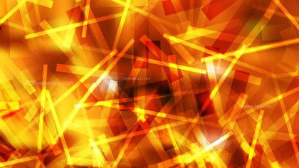 Abstract Red and Yellow Overlapping Lines Stripes Background