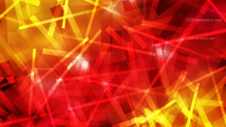 Red and Yellow Random Abstract Overlapping Lines Background Vector