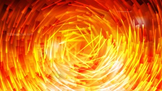 Red and Yellow Random Circular Lines Background