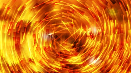 Abstract Red and Yellow Random Circular Lines Background