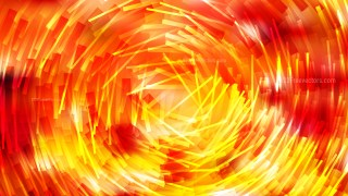 Abstract Red and Yellow Random Circular Lines Background Vector Art
