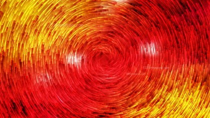 Red and Yellow Circular Lines Background