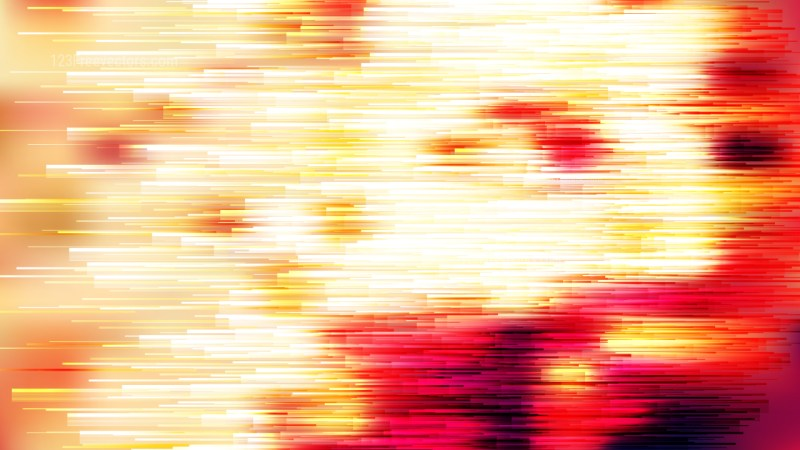 Red White and Yellow Abstract Lines Background
