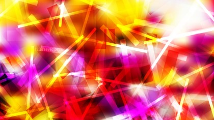 Red White and Yellow Overlapping Lines Abstract Background Vector