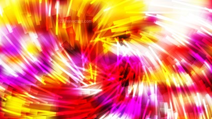 Abstract Red White and Yellow Asymmetric Random Twirl Striped Lines Background