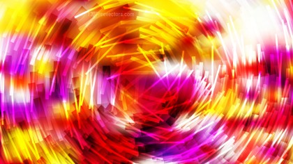 Red White and Yellow Random Circular Striped Lines Background
