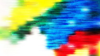 Abstract Red Yellow and Blue Horizontal Lines Background