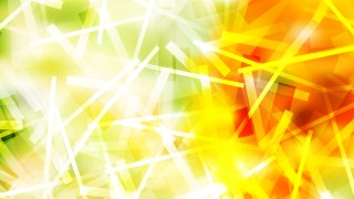Abstract Red Yellow and Green Chaotic Overlapping Lines Background Illustration