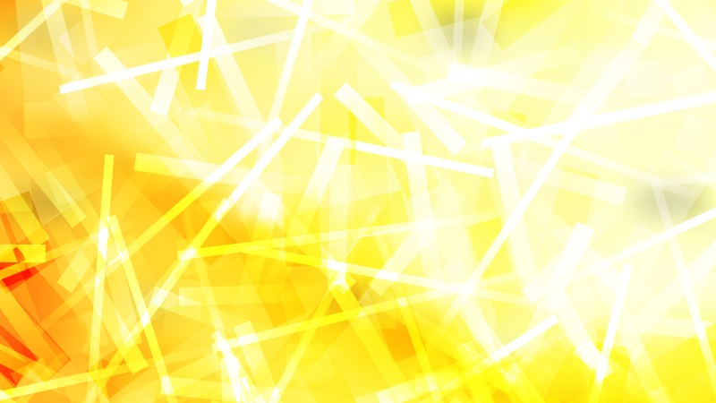 Yellow and White Irregular Lines Background