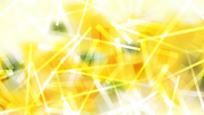 Yellow and White Asymmetric Random Lines Background