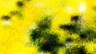 Abstract Black Green and Yellow Texture Background