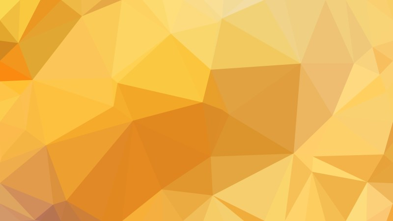 Abstract Amber Color Polygon Triangle Background Vector Illustration