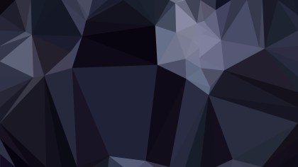 Black Low Poly Background