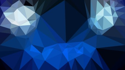 Black and Blue Polygon Background Template Graphic