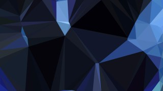 Black and Blue Polygon Background Graphic