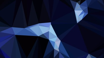 Black and Blue Polygon Pattern Background Illustration
