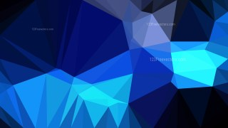 Black and Blue Triangle Geometric Background