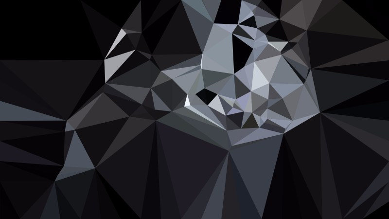 Black and Grey Polygon Background