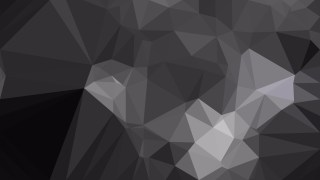 Black and Grey Polygon Triangle Background