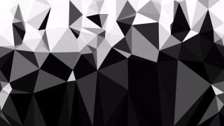 Black and White Polygon Background Graphic Design