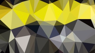Black and Yellow Polygonal Abstract Background Design Vector Illustration