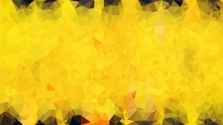 Black and Yellow Polygon Abstract Background