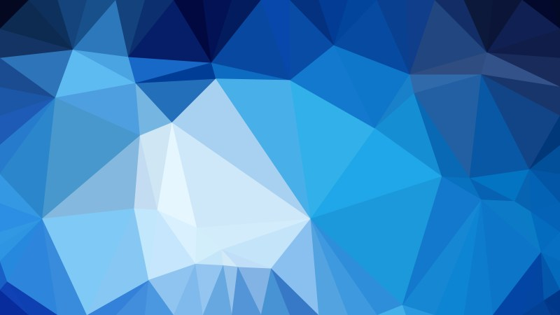 Blue Polygon Pattern Background Vector Art
