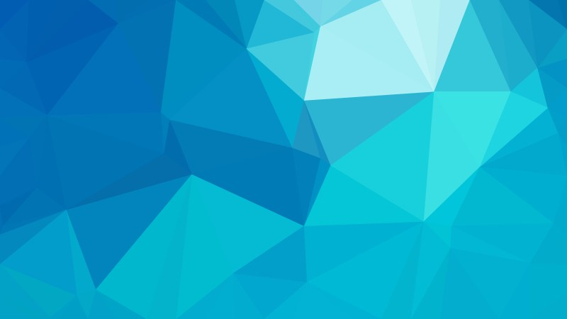 Blue Polygon Pattern Background