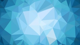 Blue Polygonal Triangular Background