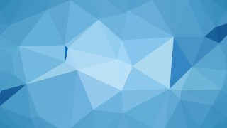 Blue Polygonal Background Template Illustrator