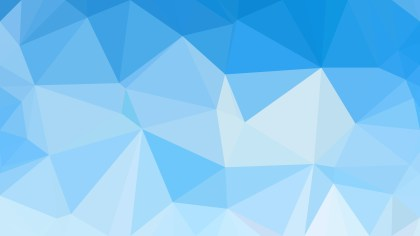 Blue Polygonal Triangular Background Vector Art