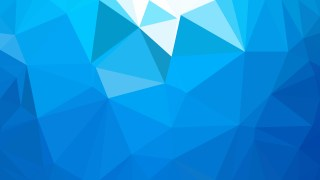 Abstract Blue Low Poly Background Image