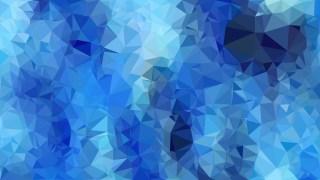 Abstract Blue Low Poly Background Template Vector Graphic