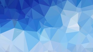 Blue Polygonal Abstract Background Design